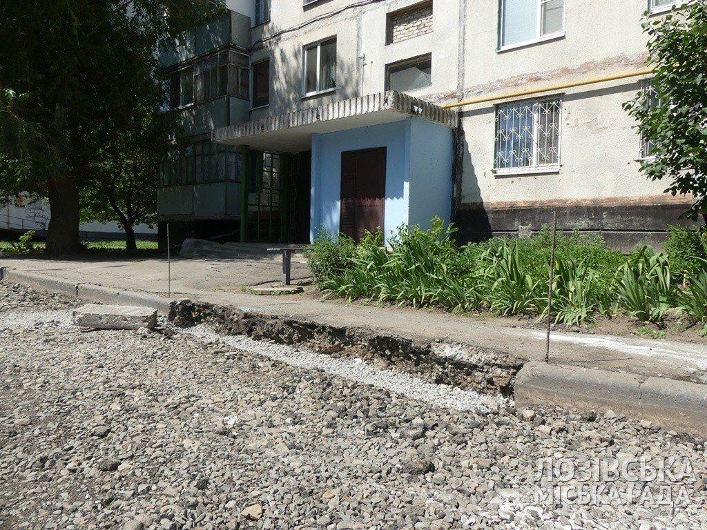 В Лозовой ремонтируют внутриквартальные дороги, фото-2
