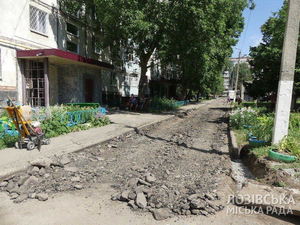 В Лозовой ремонтируют внутриквартальные дороги, фото-3