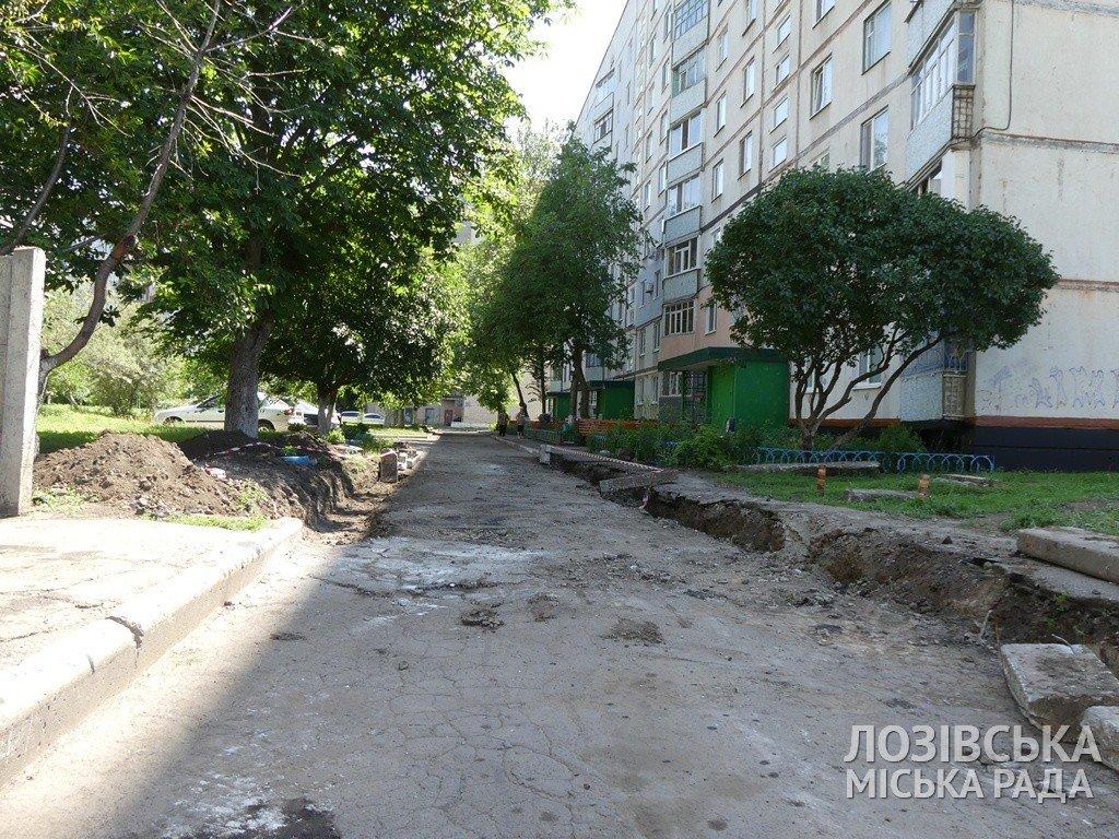 В Лозовой ремонтируют внутриквартальные дороги, фото-4