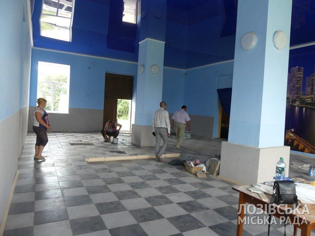 В Лозовской ОТГ ремонтируют сельские клубы, фото-6