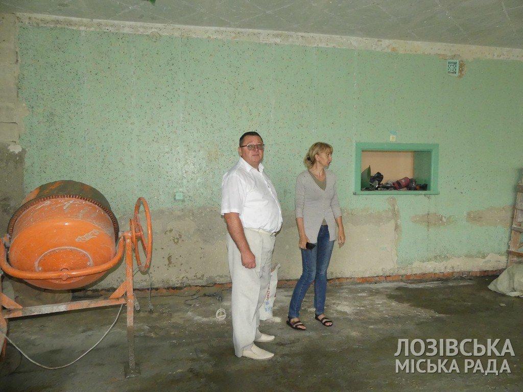 В Панютинской школе №1 отремонтировали крышу и обновляют столовую , фото-7