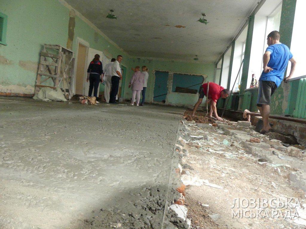 В Панютинской школе №1 отремонтировали крышу и обновляют столовую , фото-8