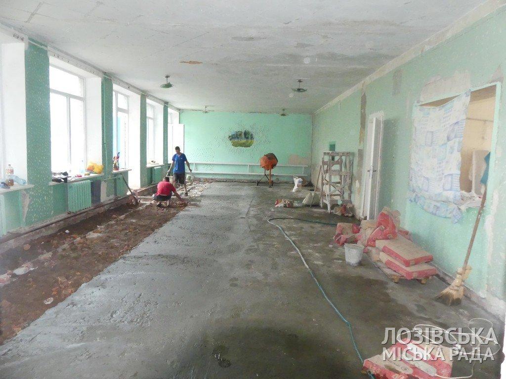В Панютинской школе №1 отремонтировали крышу и обновляют столовую , фото-9