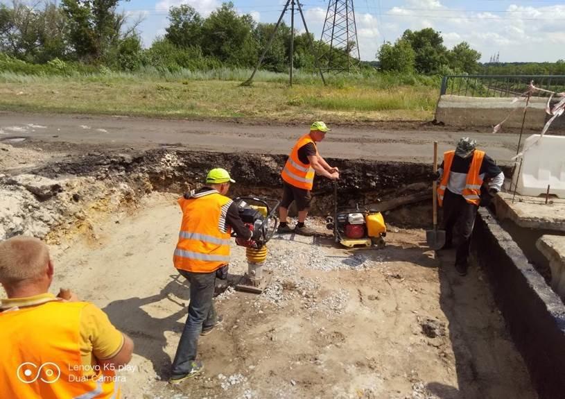 В Лозовой ремонтируют мост по ул. Кооперативная, фото-2