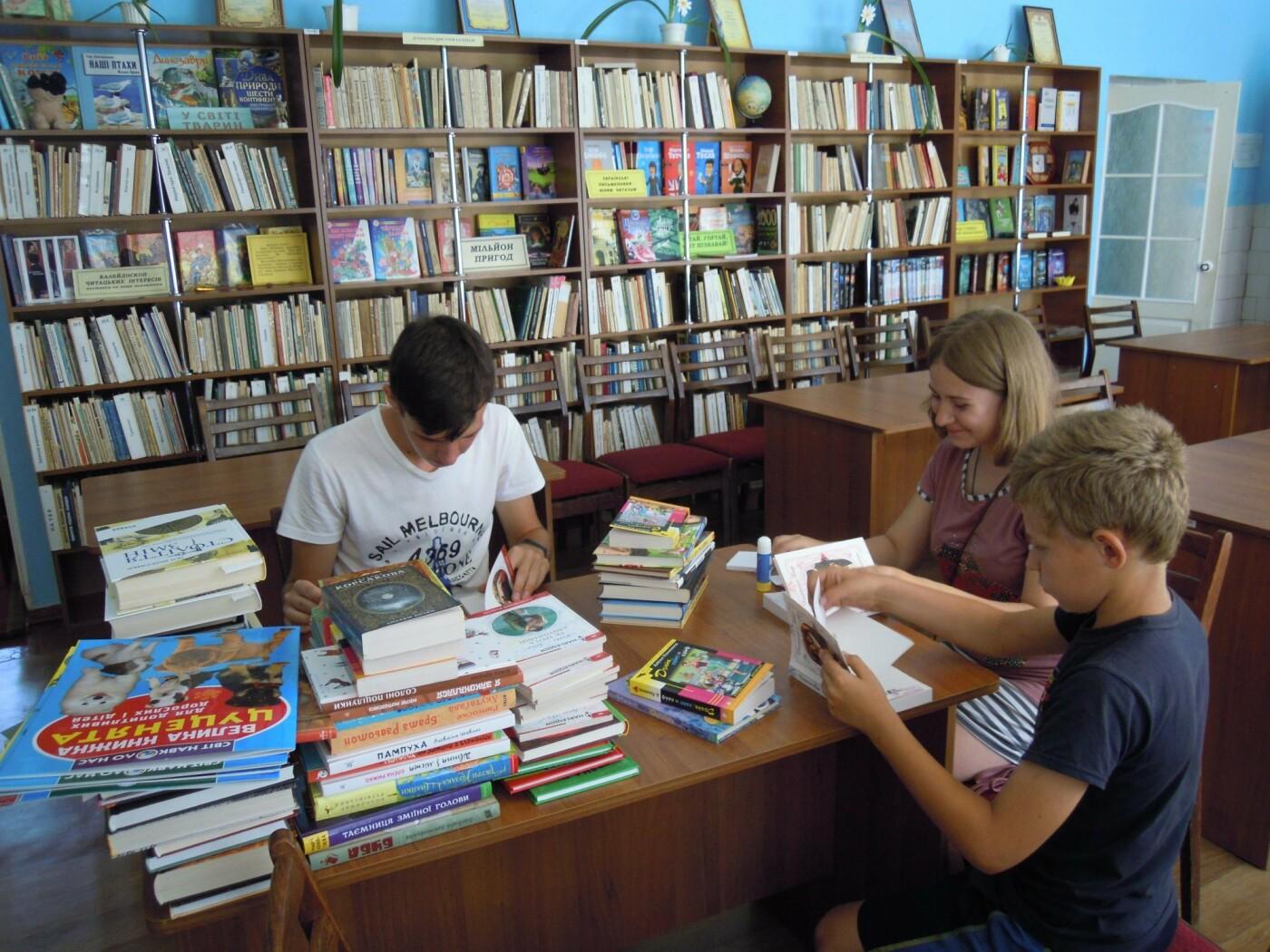 В библиотеках Лозовской ОТГ обновляют книжный фонд, фото-5