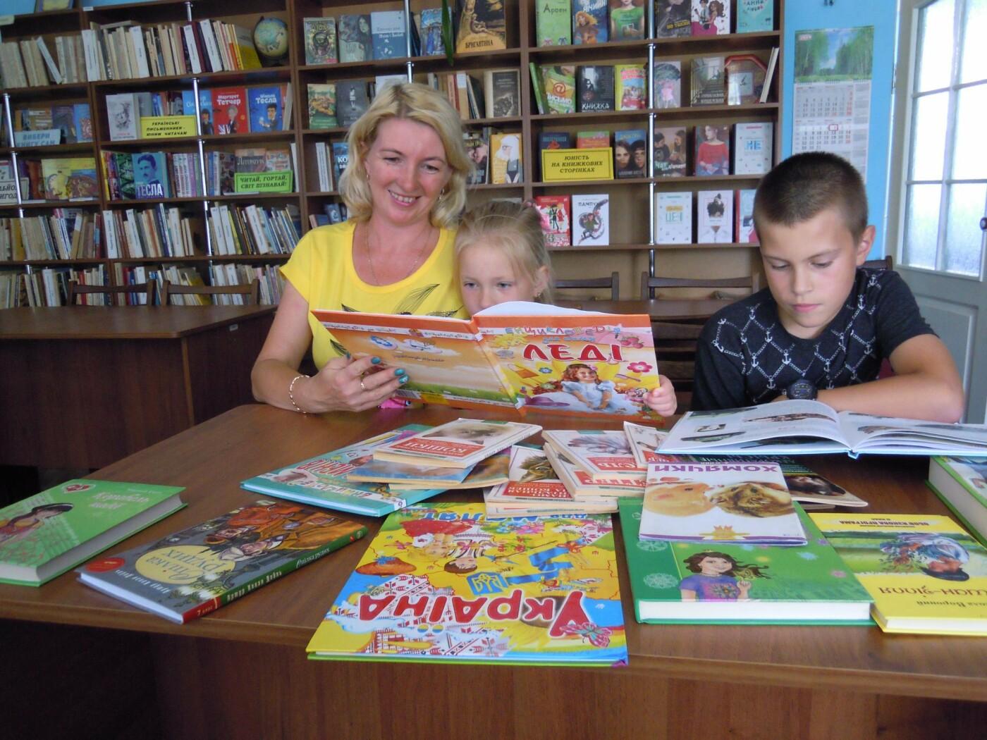 В библиотеках Лозовской ОТГ обновляют книжный фонд, фото-1