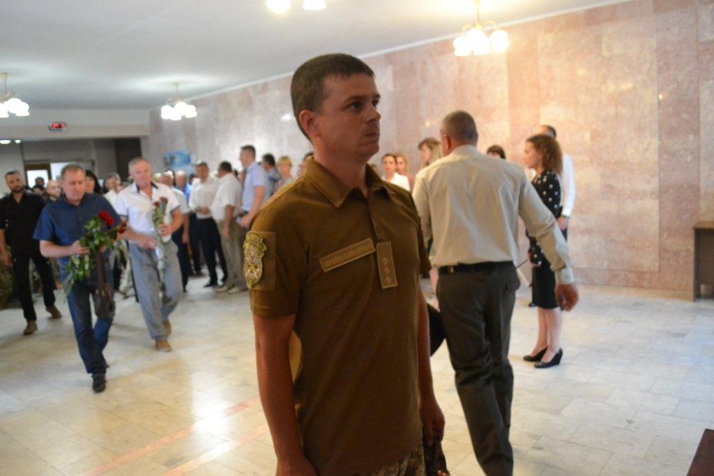 В Лозовой почтили память Героя Украины Александра Лавренко, фото-3