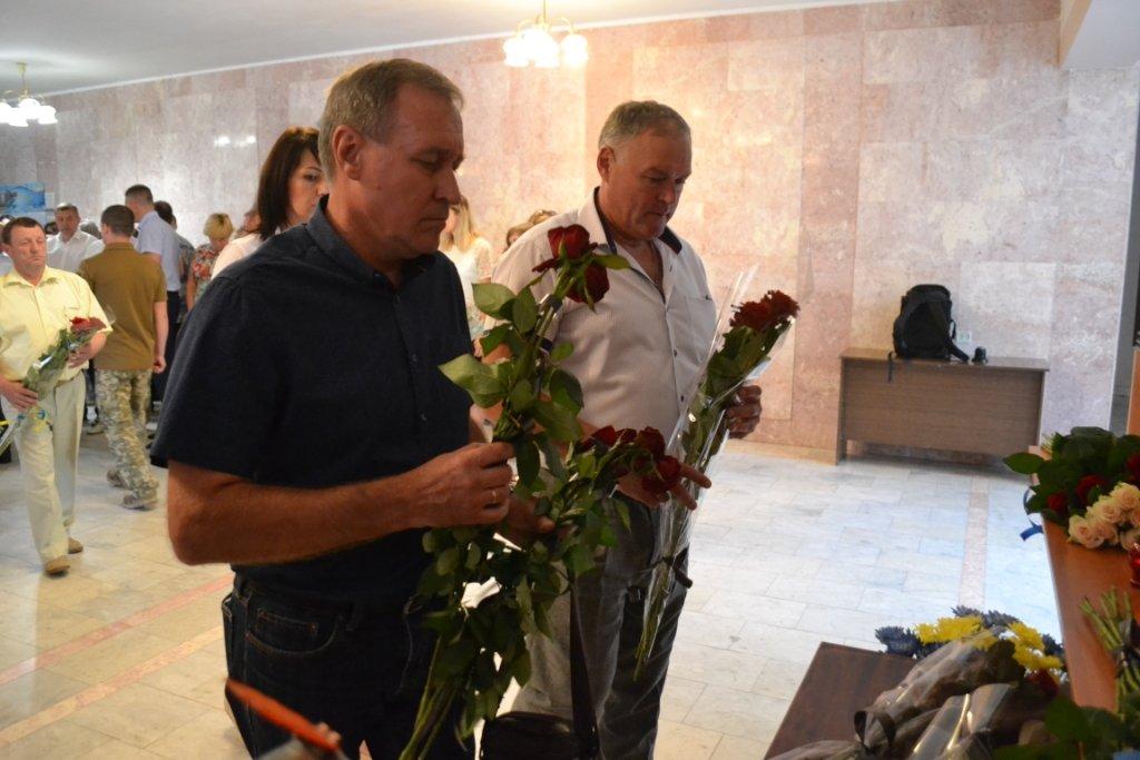 В Лозовой почтили память Героя Украины Александра Лавренко, фото-6