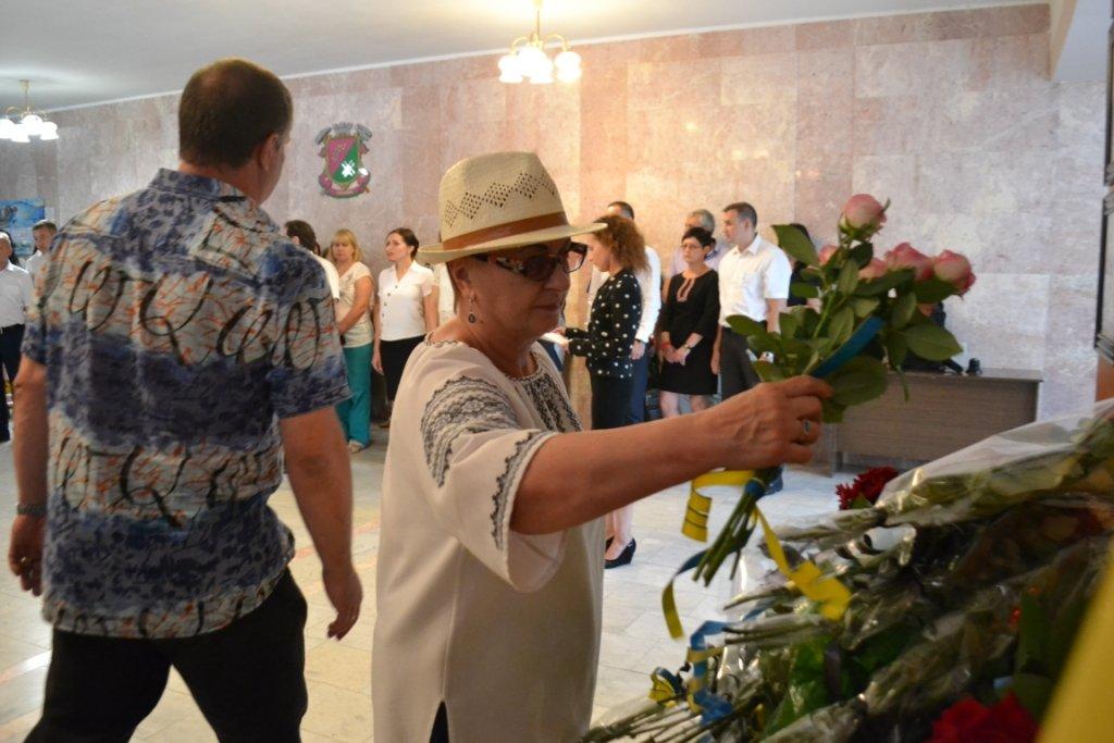 В Лозовой почтили память Героя Украины Александра Лавренко, фото-7