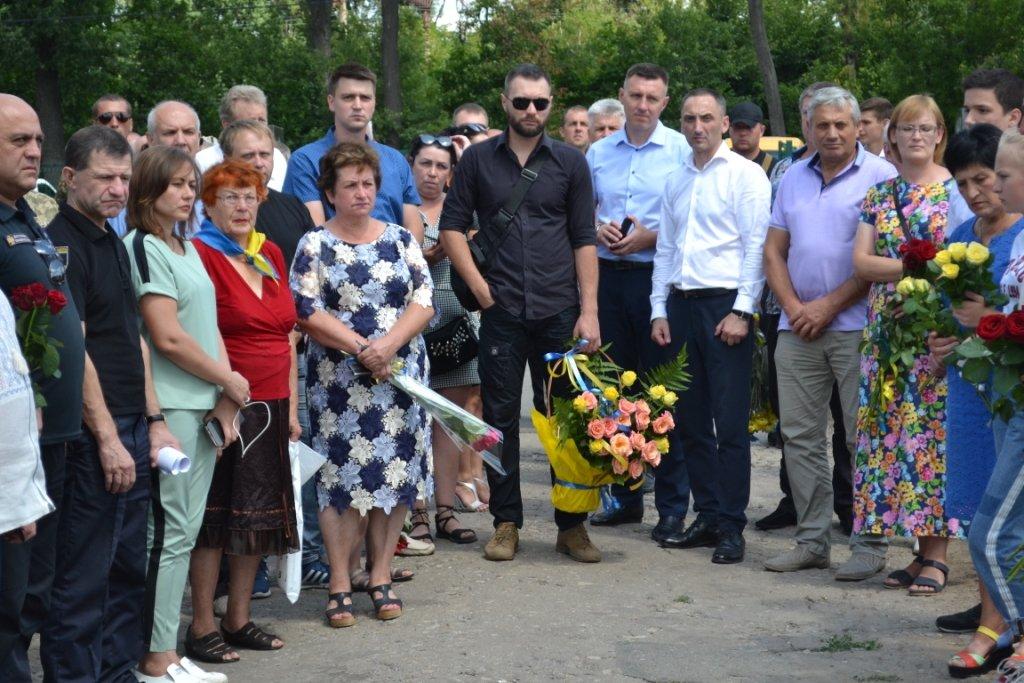 В Лозовой почтили память Героя Украины Александра Лавренко, фото-10