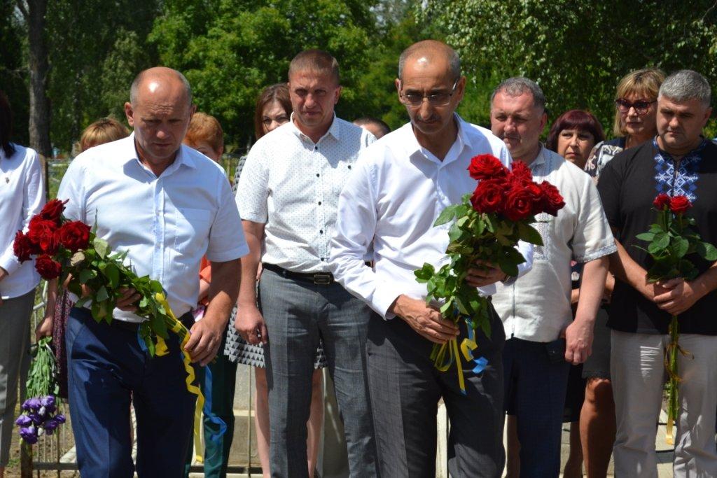 В Лозовой почтили память Героя Украины Александра Лавренко, фото-11
