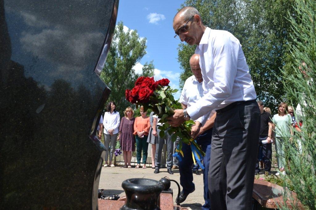 В Лозовой почтили память Героя Украины Александра Лавренко, фото-14