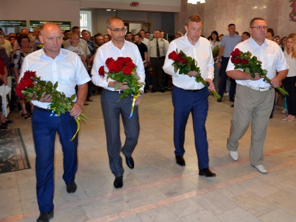 В Лозовой почтили память Героя Украины Александра Лавренко, фото-4