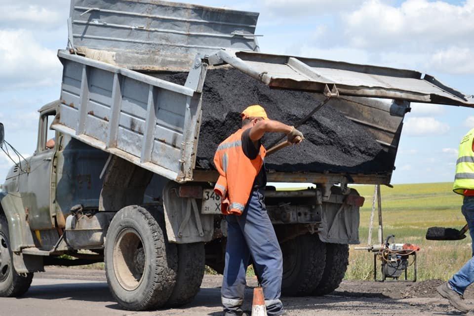 На Лозовщине ремонтируют дорогу Панютино - Старая Владимировка, фото-5