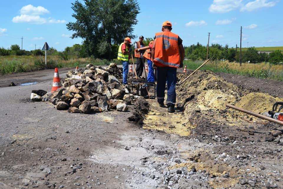 На Лозовщине ремонтируют дорогу Панютино - Старая Владимировка, фото-4