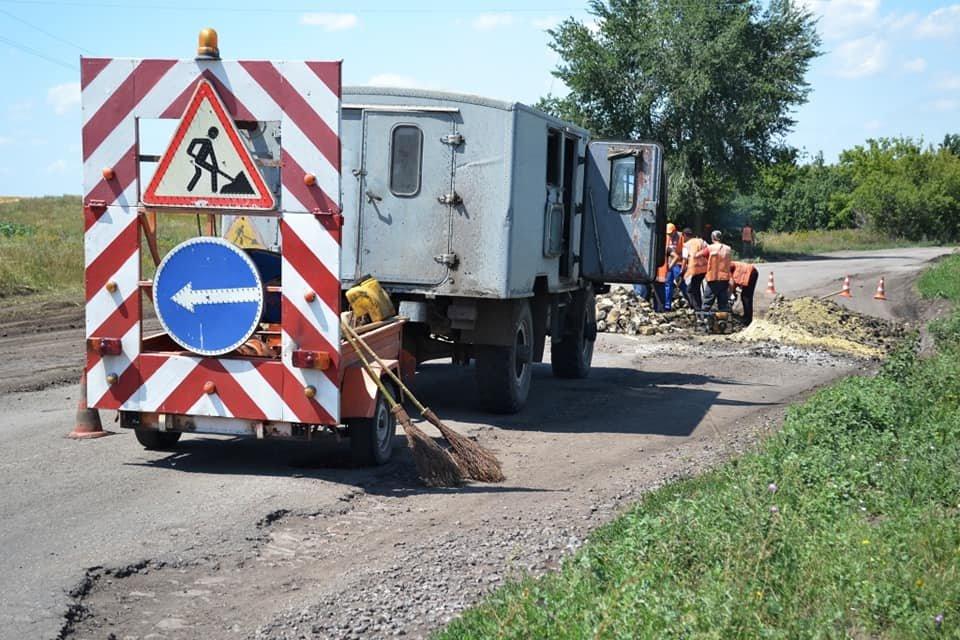 На Лозовщине ремонтируют дорогу Панютино - Старая Владимировка, фото-7