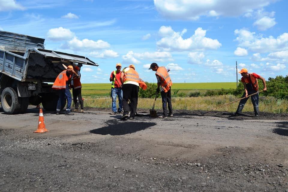 На Лозовщине ремонтируют дорогу Панютино - Старая Владимировка, фото-6