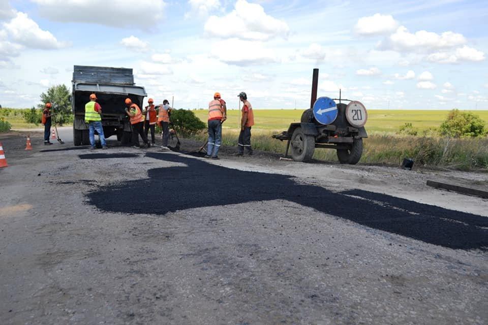 На Лозовщине ремонтируют дорогу Панютино - Старая Владимировка, фото-3