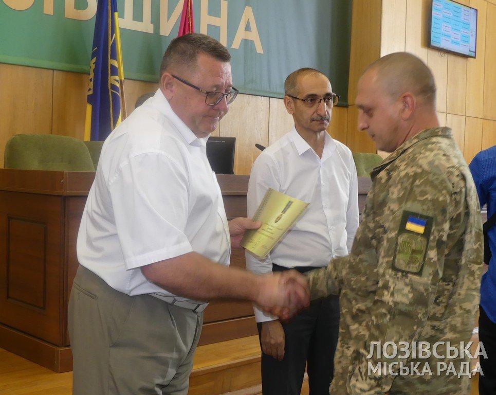 В Лозовой участникам боевых действий вручили награды от Президента, фото-1