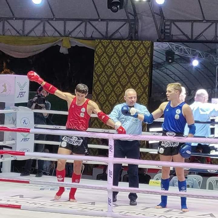 Лозовчанин Василий Сорокин вышел в полуфинал Чемпионата мира по тайскому боксу, фото-1