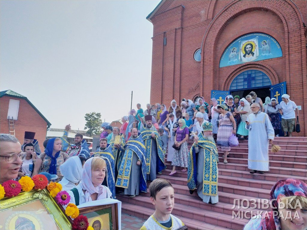 В Лозовой прошел Крестный ход верующих , фото-8