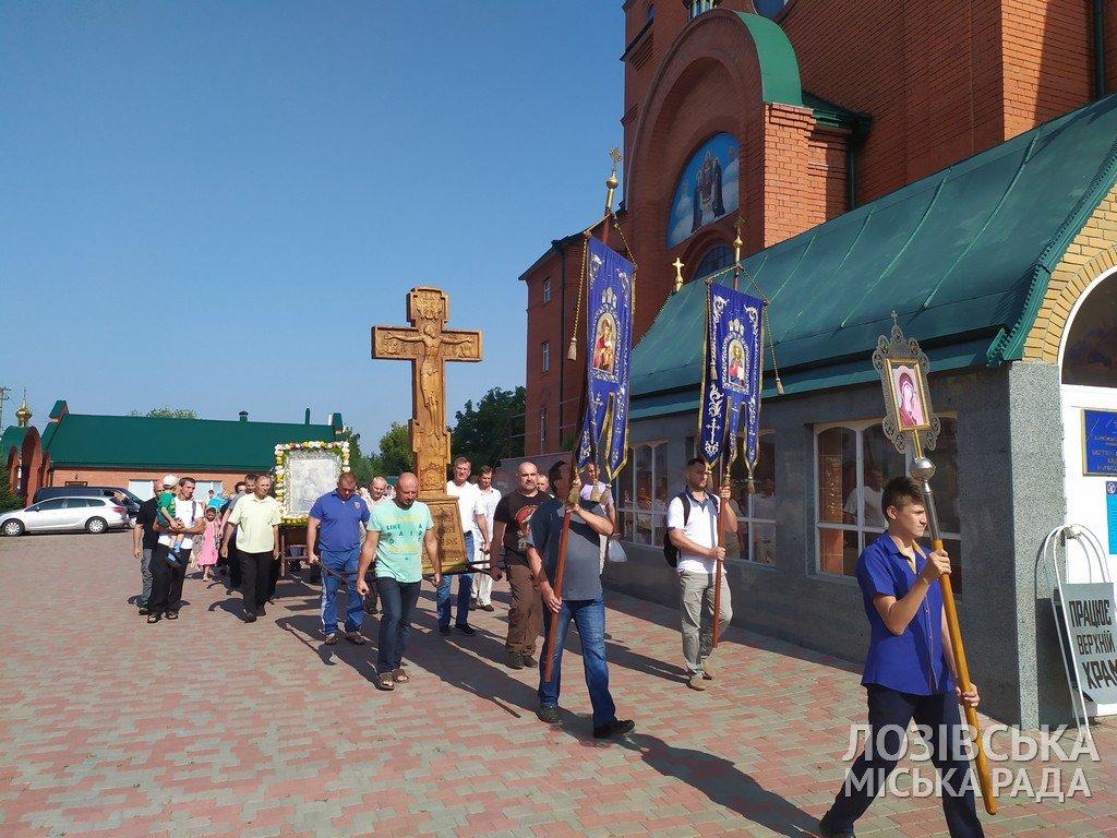 В Лозовой прошел Крестный ход верующих , фото-9