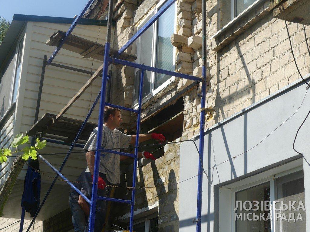 В Панютино ремонтируют многоквартирные дома, фото-2