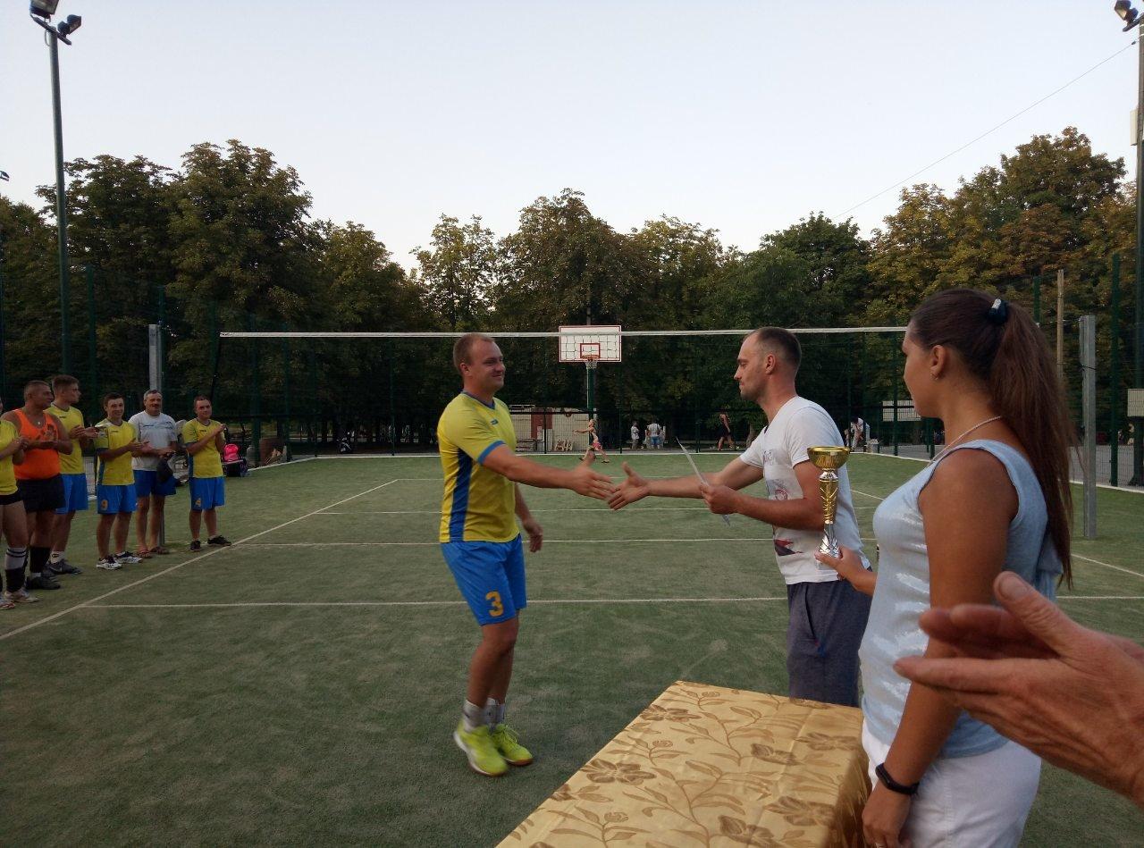Волейболисты Лозовой на День Независимости состязались в Открытом турнире , фото-5