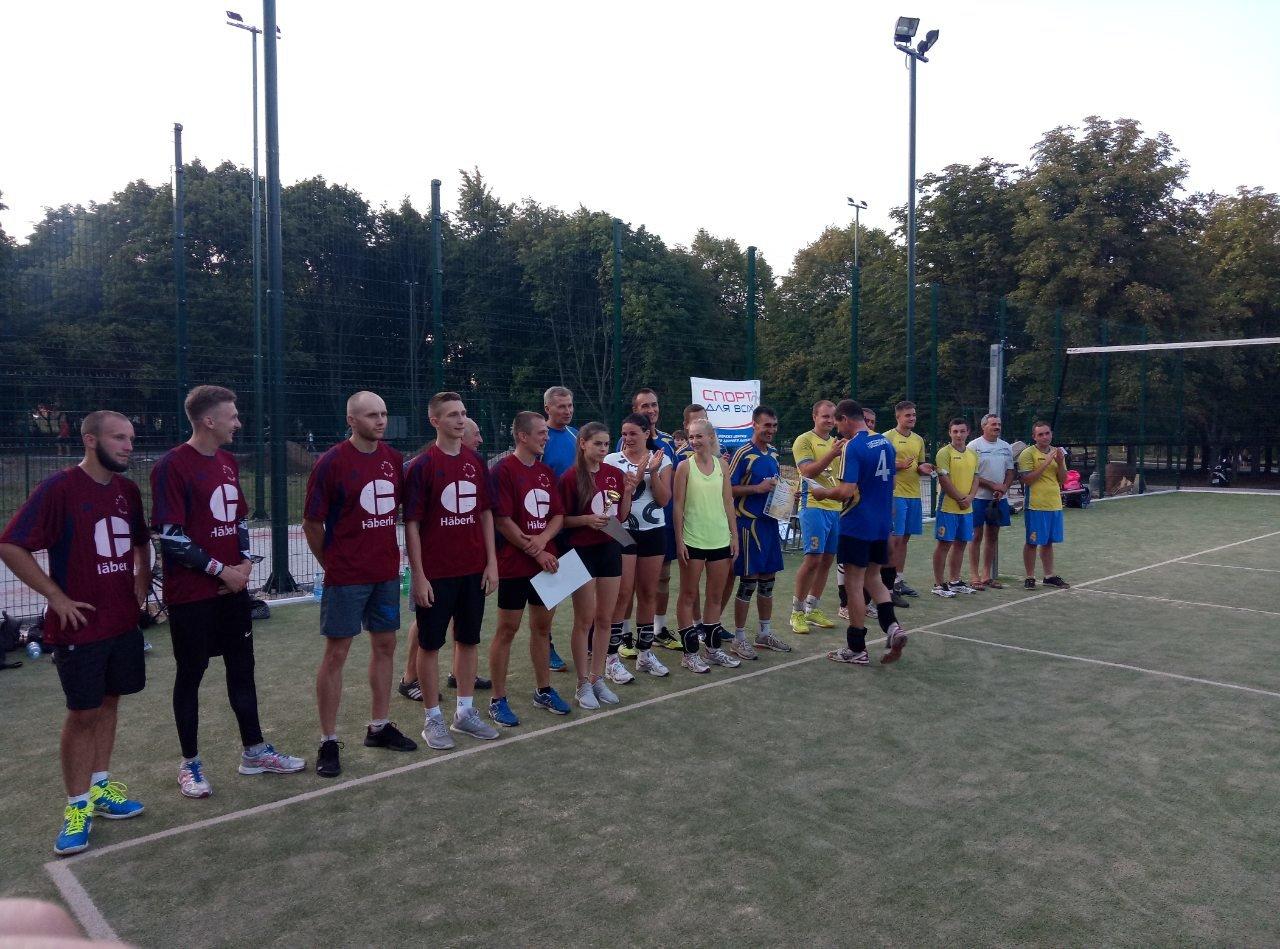 Волейболисты Лозовой на День Независимости состязались в Открытом турнире , фото-9