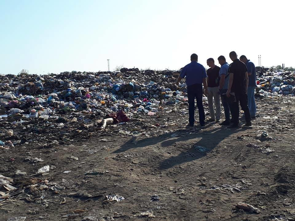 В Лозовой на свалке нашли труп убитой женщины, фото-1