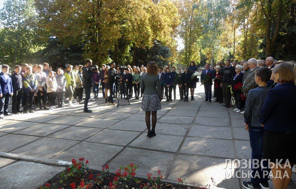В Лозовой почтили память партизан и воинов-подпольщиков, фото-2