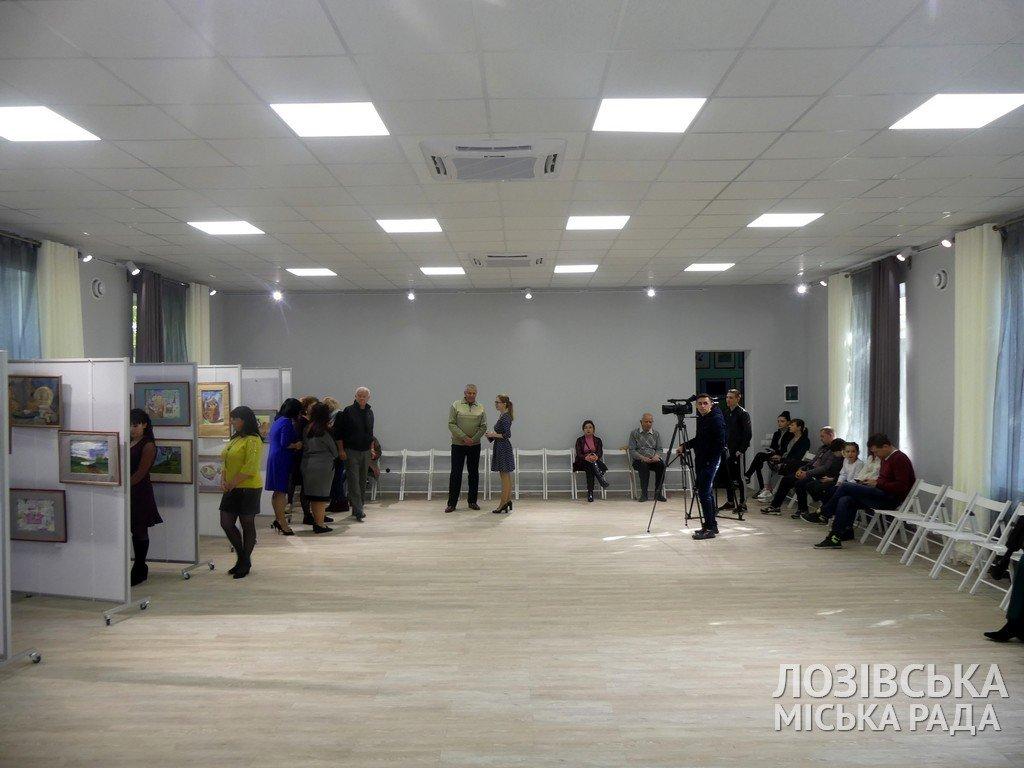 В Лозовской художественной школе торжественно открыли экспозиционный зал, фото-5