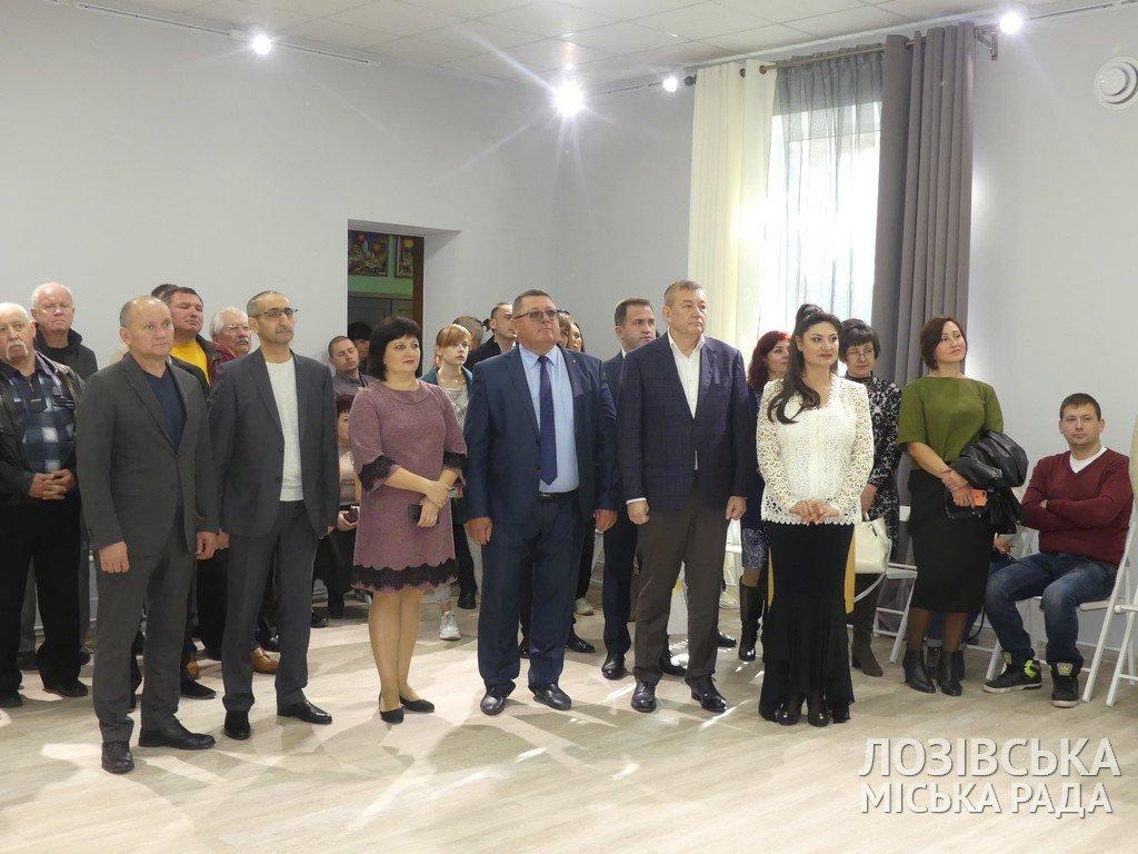 В Лозовской художественной школе торжественно открыли экспозиционный зал, фото-2