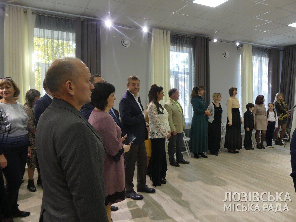 В Лозовской художественной школе торжественно открыли экспозиционный зал, фото-3