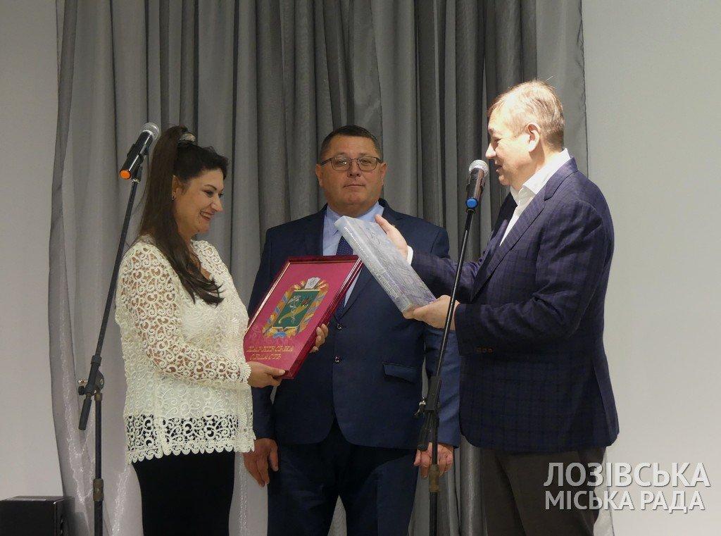 В Лозовской художественной школе торжественно открыли экспозиционный зал, фото-6