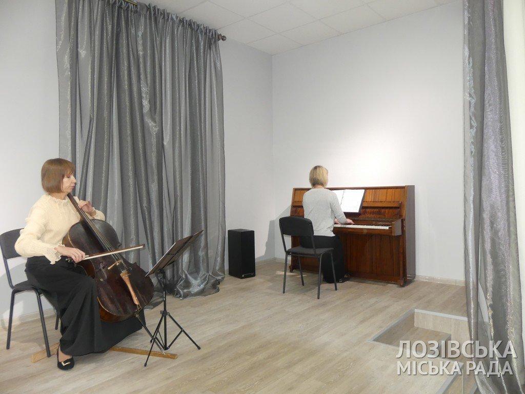В Лозовской художественной школе торжественно открыли экспозиционный зал, фото-10