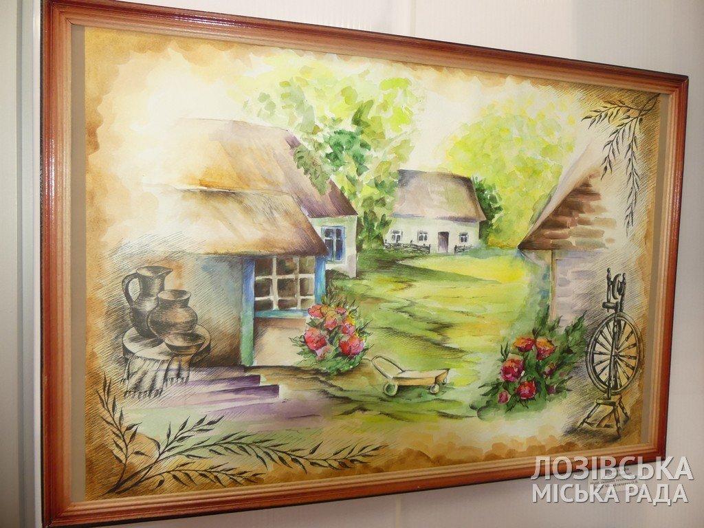 В Лозовской художественной школе торжественно открыли экспозиционный зал, фото-12