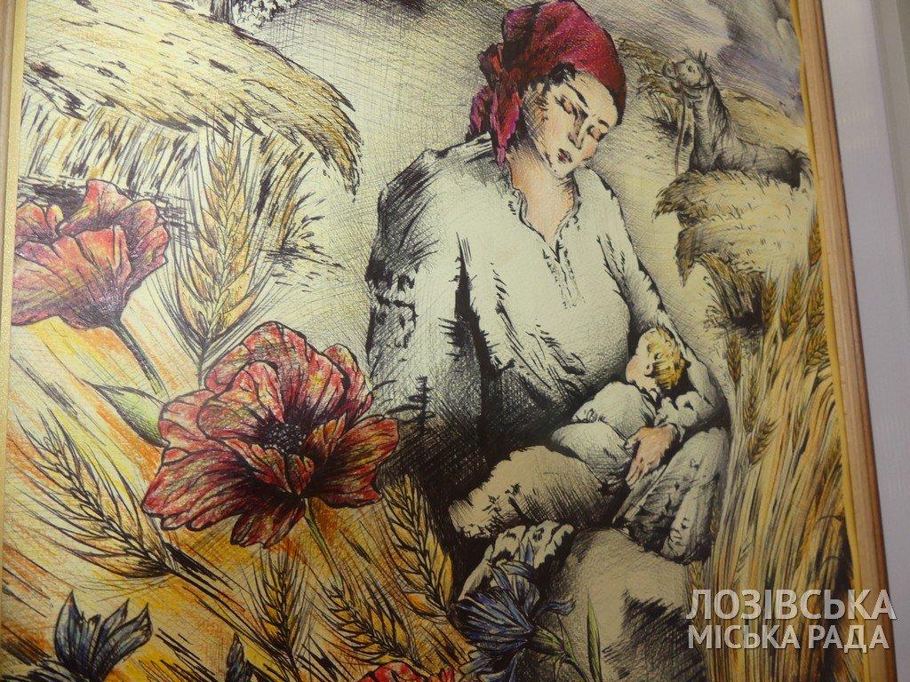 В Лозовской художественной школе торжественно открыли экспозиционный зал, фото-13