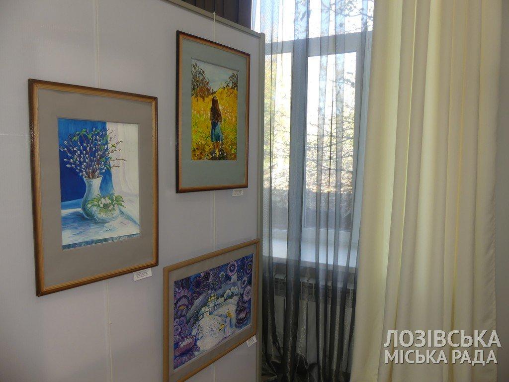 В Лозовской художественной школе торжественно открыли экспозиционный зал, фото-14