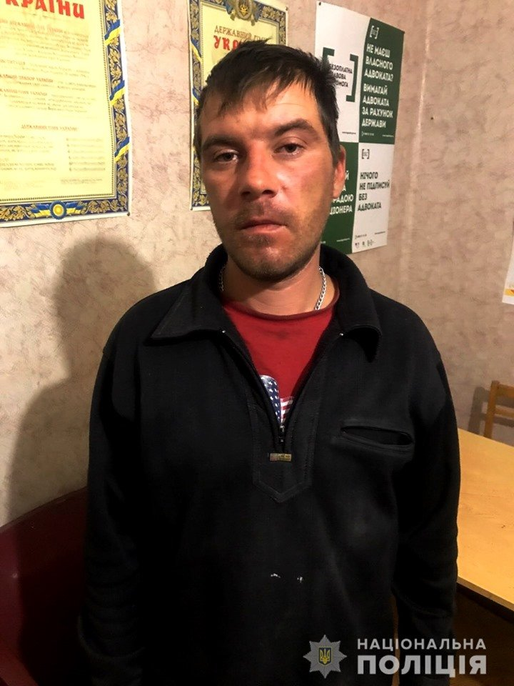 Лозовской отдел полиции ищет сбежавшего подозреваемого в убийстве, фото-1