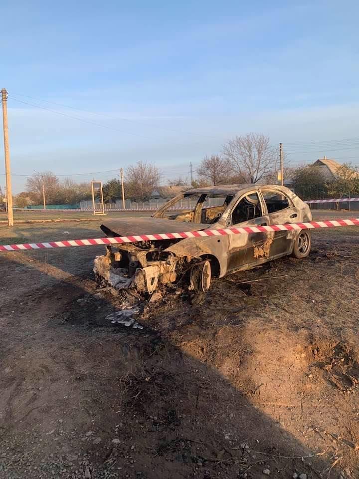 В Лозовой человек сгорел в автомобиле (Дополнено), фото-4