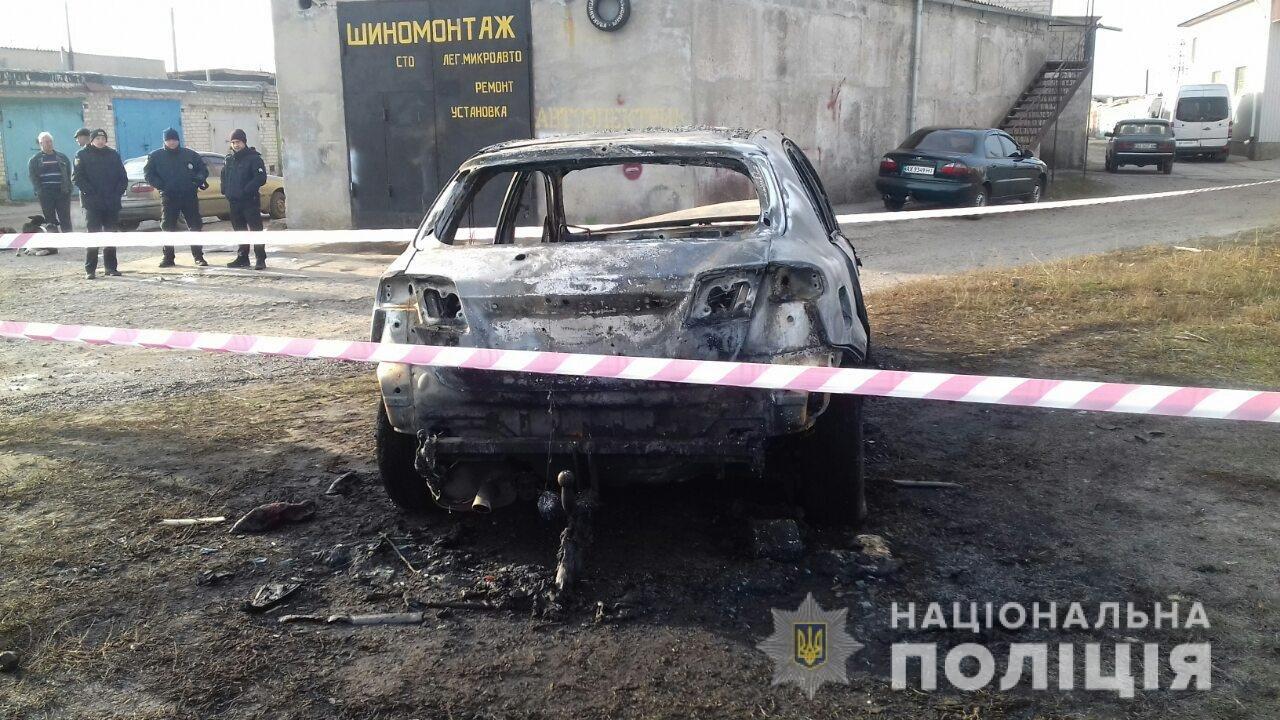 В Лозовой человек сгорел в автомобиле (Дополнено), фото-6