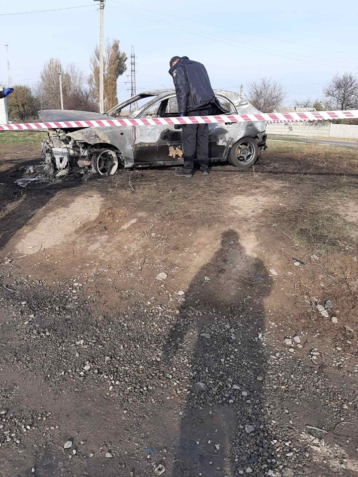 В Лозовой человек сгорел в автомобиле (Дополнено), фото-5