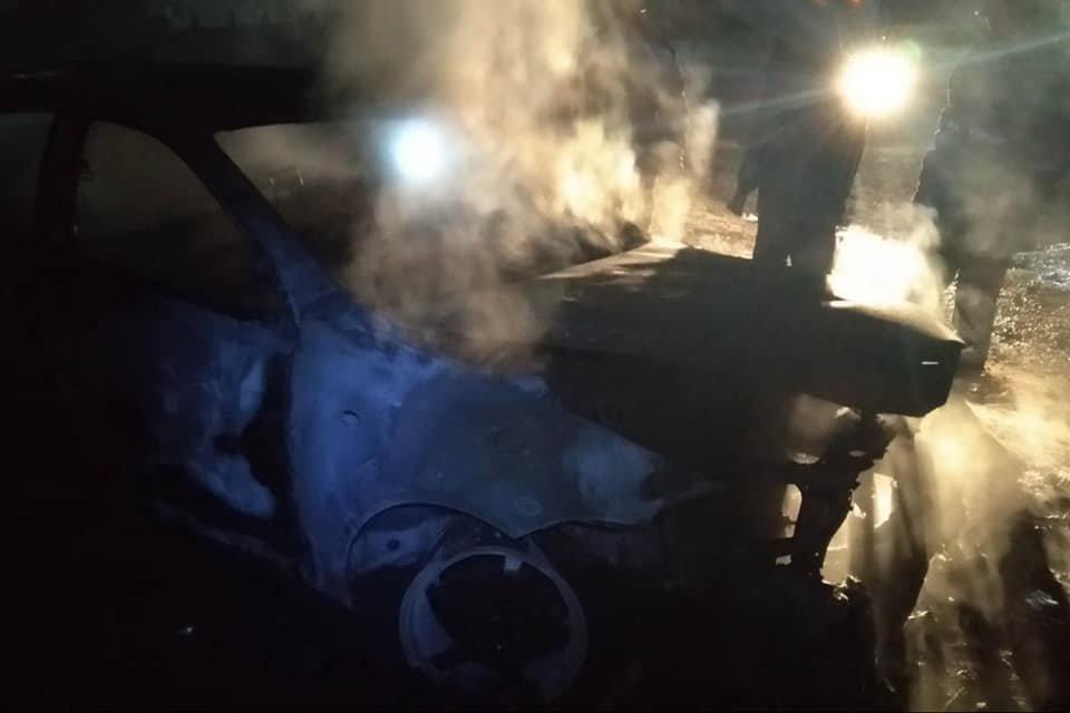 В Лозовой человек сгорел в автомобиле (Дополнено), фото-1