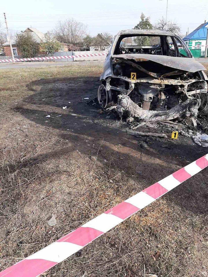В Лозовой человек сгорел в автомобиле (Дополнено), фото-3