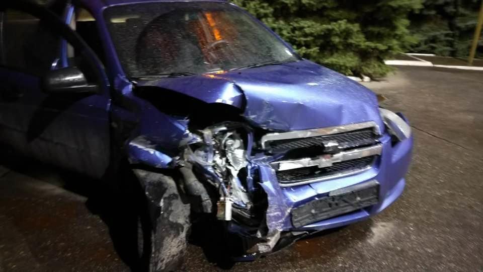 Под Лозовским горсоветом произошло  столкновение 2 автомобилей. Есть пострадавшие (Видео), фото-4