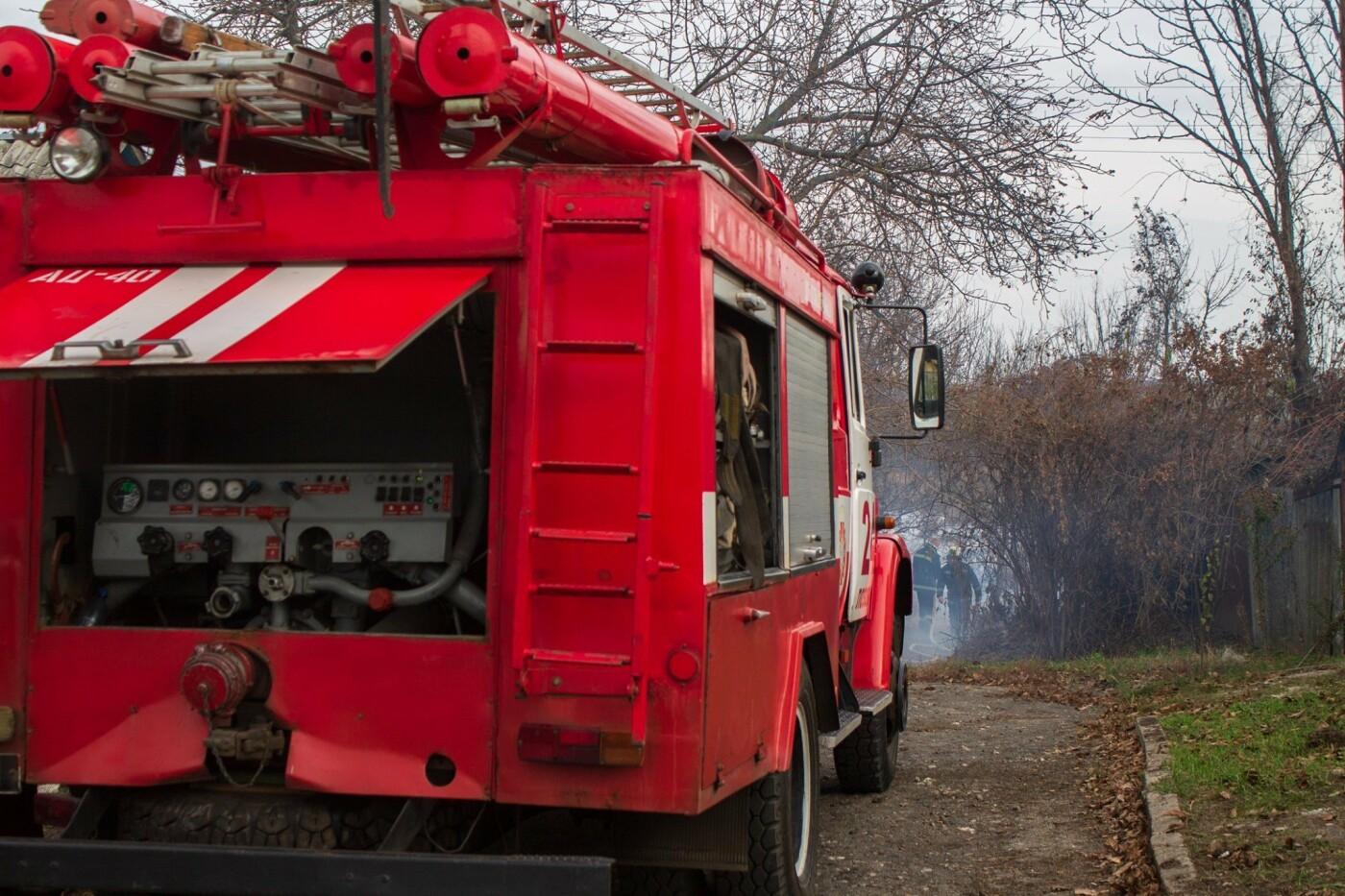 В Лозовой и селе Весёлом выгорела сухая растительность, фото-12