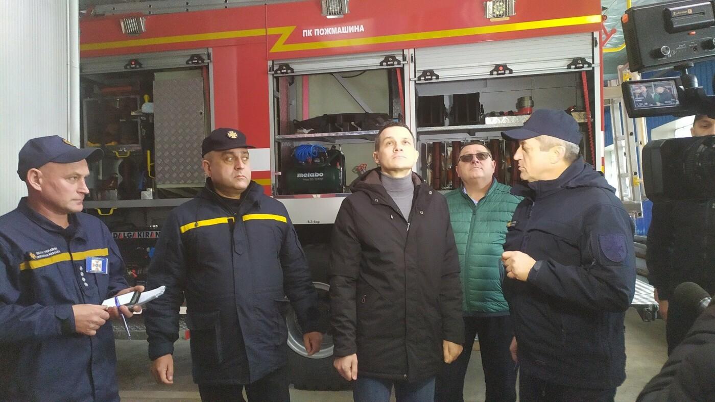 Глава ХОГА Алексей Кучер посетил Лозовую с инспекцией пожарной безопасности, фото-1