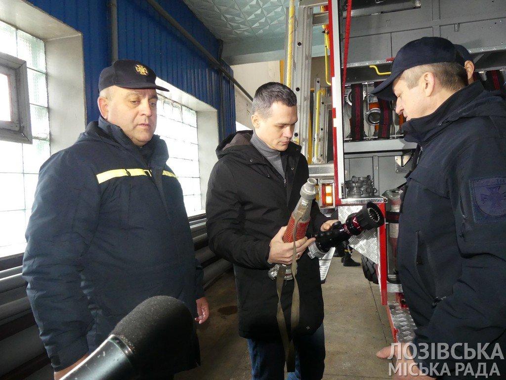 Глава ХОГА Алексей Кучер посетил Лозовую с инспекцией пожарной безопасности, фото-3