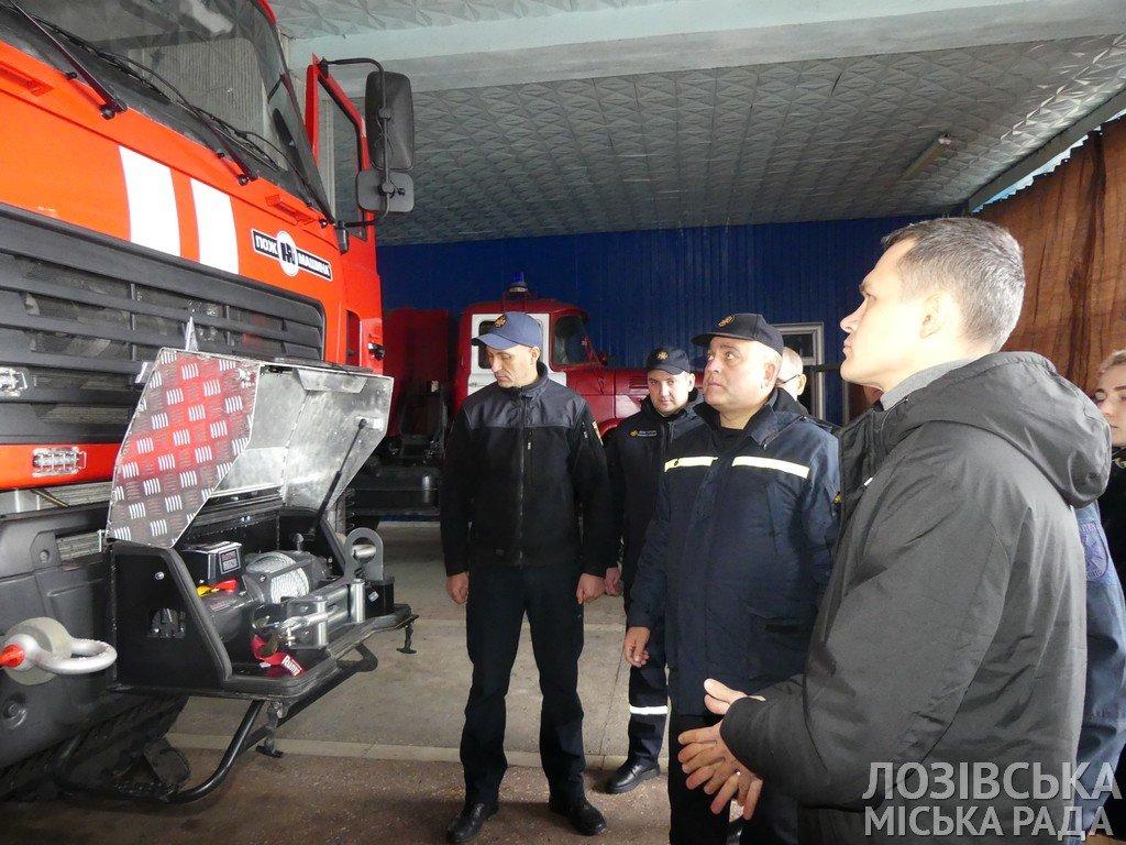 Глава ХОГА Алексей Кучер посетил Лозовую с инспекцией пожарной безопасности, фото-4